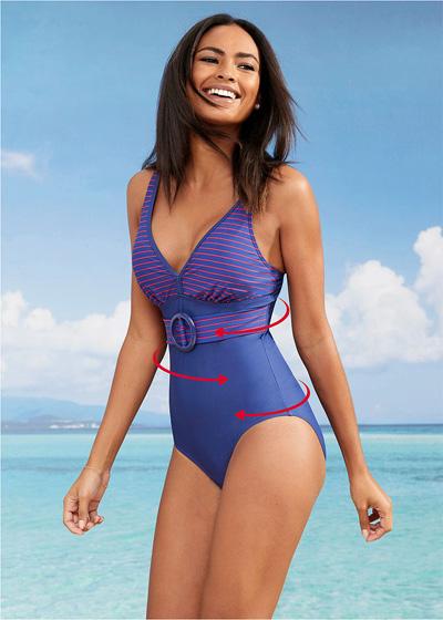 Wyszczuplający kostium kąpielowy shape