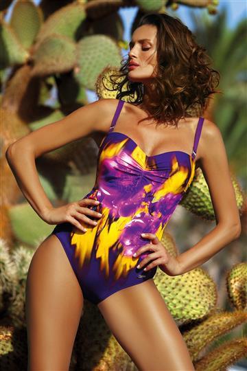 Jednoczęściowy kostium kąpielowy Hellen Mora M-496