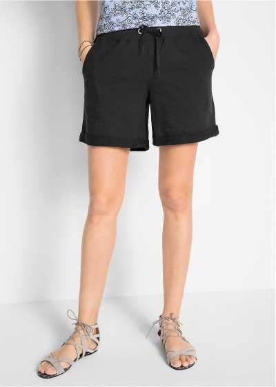 Szorty damskie dresowe czarne
