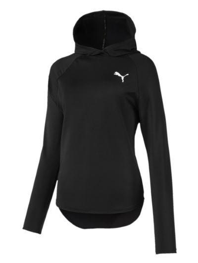 Puma damska bluza z kapturem do biegania czarna