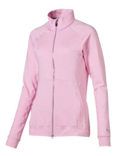 Puma bluza golf do biegania i na trening rozpinana różowa