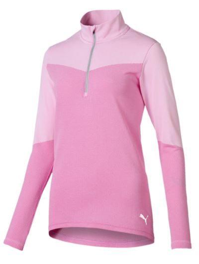 Puma bluza golf do biegania i na trening różowa